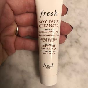 4/$15 fresh soy face cleanser